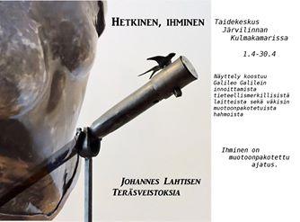 Johannes Lahtisen näyttelyjuliste