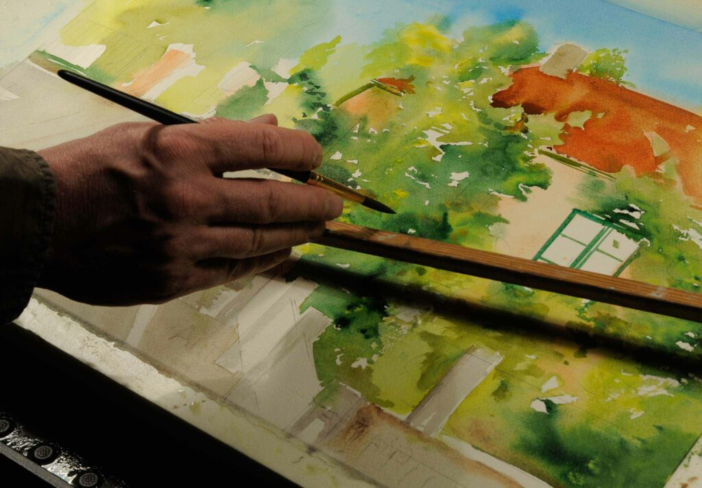 Live maalausta pe 23.7. klo 12-16